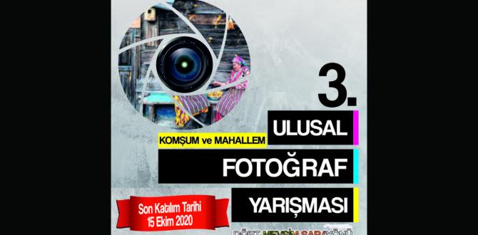 3.Ulusal fotoğraf yarışması başlıyor