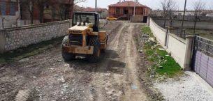 Yol alt yapıları hazırlanıyor